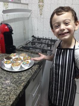 Victinho cupcake