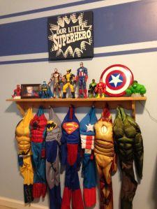 espaço super heroes