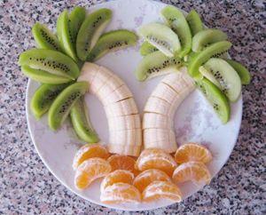 prato frutas