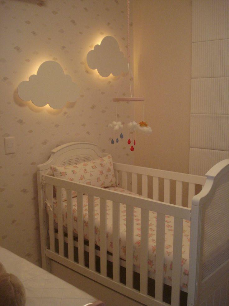 Inspiração para o quarto dos pequenos com o tema nuvens – Curiosidades de Mãe
